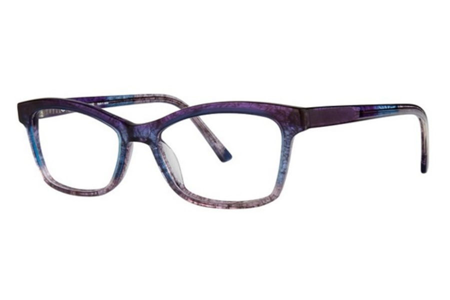 OGI Eyewear 9124 Eyeglasses in 2272 Purple Blue Fade