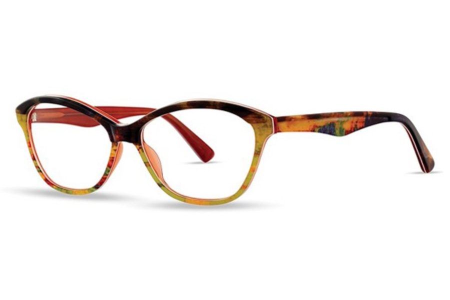 OGI Eyewear 9233 Eyeglasses in 2116 Leopard/Terracotta