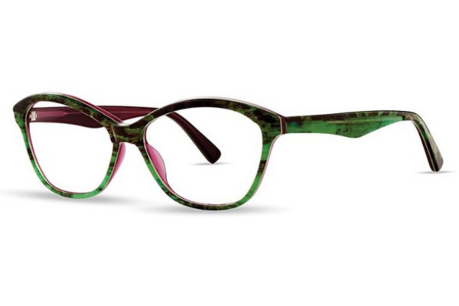 OGI Eyewear 9233 Eyeglasses in 2117 Juniper Green/Aubergine