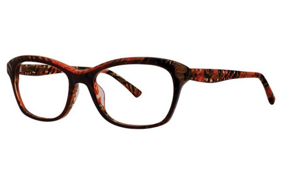 OGI Eyewear 9238 Eyeglasses in 2168 Tiramisu Brown/Zesty Orange