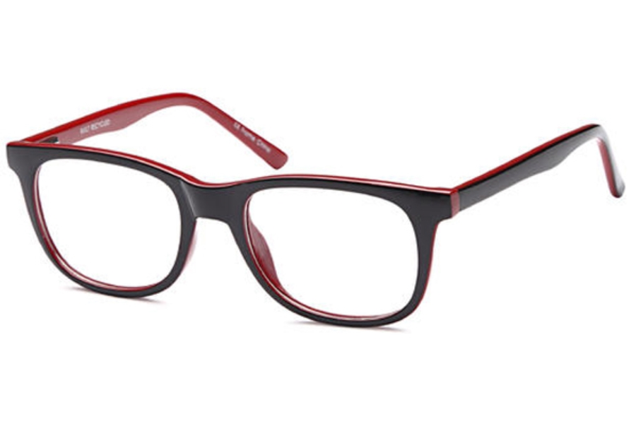 OnO PRIME P15623 Eyeglasses in C2-Blk Red