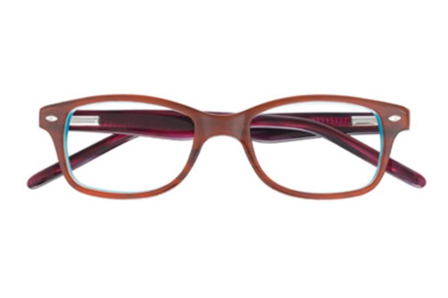5c0bfc286ee ... OP-Ocean Pacific Kids OP 817 Eyeglasses in Brown Teal (43 eye size only  ...