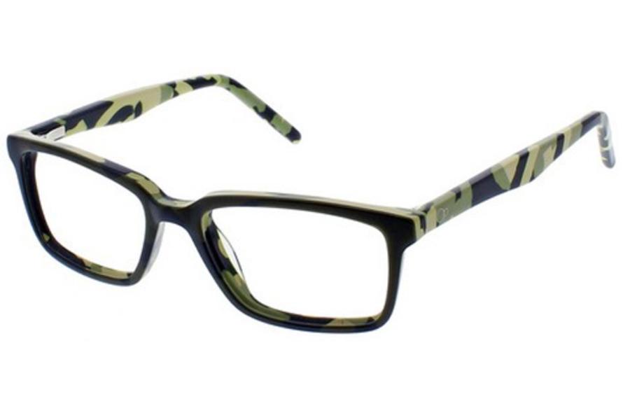 ac223c4ae25 OP-Ocean Pacific Kids OP 847 Eyeglasses in Green Camo ...
