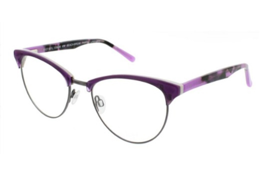 Op-Ocean Pacific Beach Break Eyeglasses in Purple Laminate