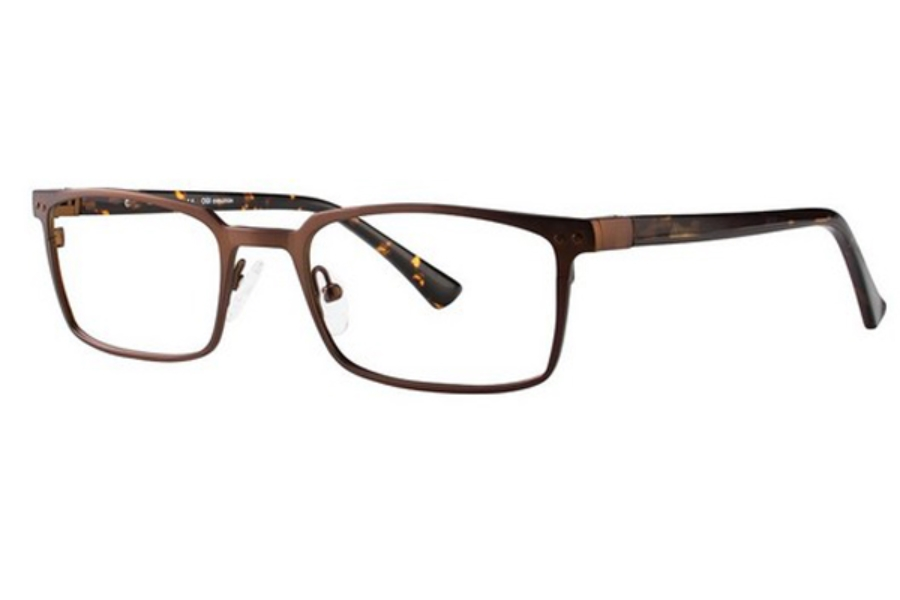 OGI Eyewear 5509 Eyeglasses in 1863 Brown Brown Tiger
