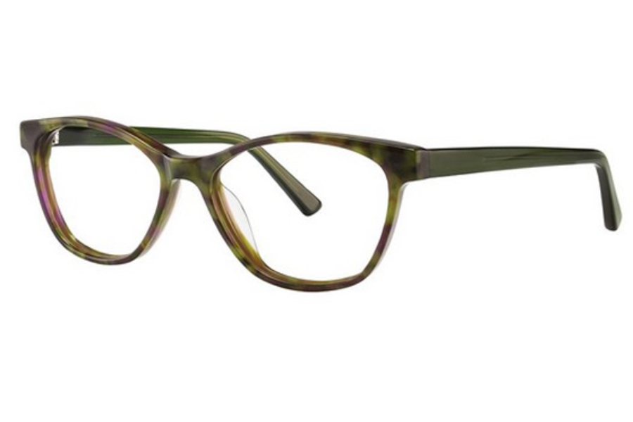 OGI Eyewear 7155 Eyeglasses in 1823 Green Tortoise/Green