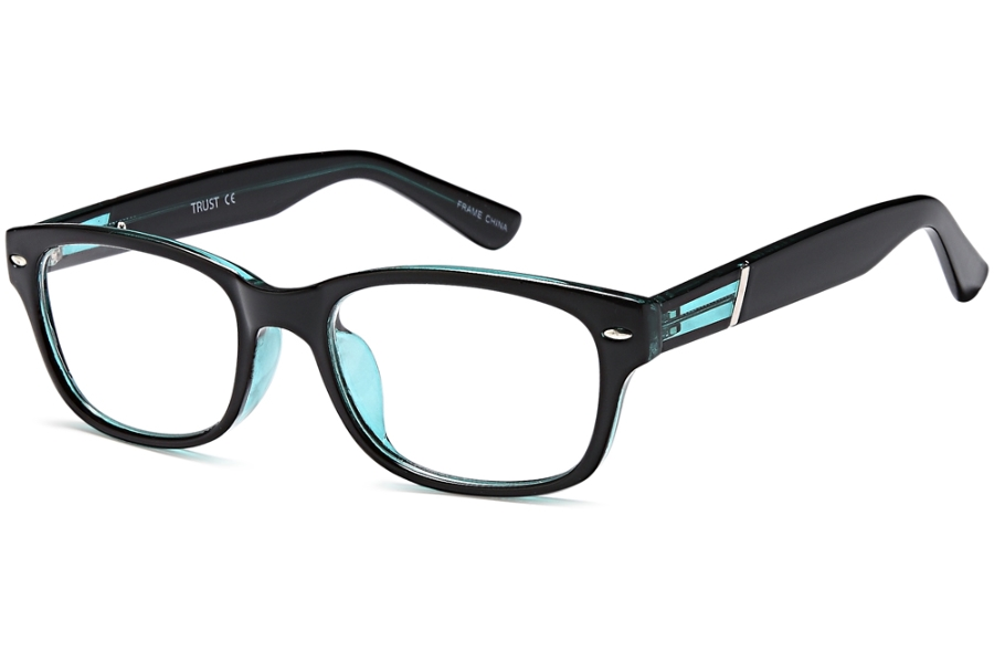 OnO Independent D17137 Eyeglasses in C2-Blk Blue