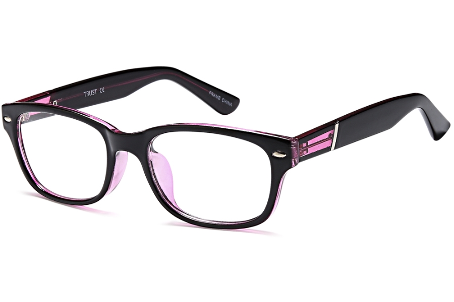 OnO Independent D17137 Eyeglasses in C3-Blk Purple