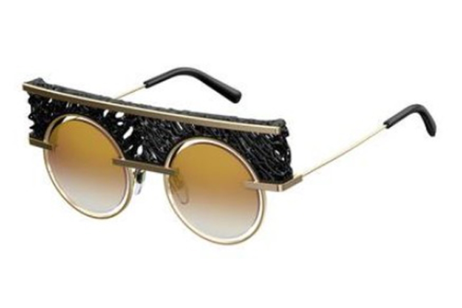 Oxydo O_No 1_BITONTI Sunglasses in 0J5G Gold (JL brown ss gold lens)