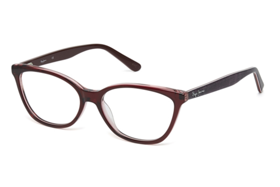 Pepe Jeans PJ3317 Eyeglasses in C3 Burgundy