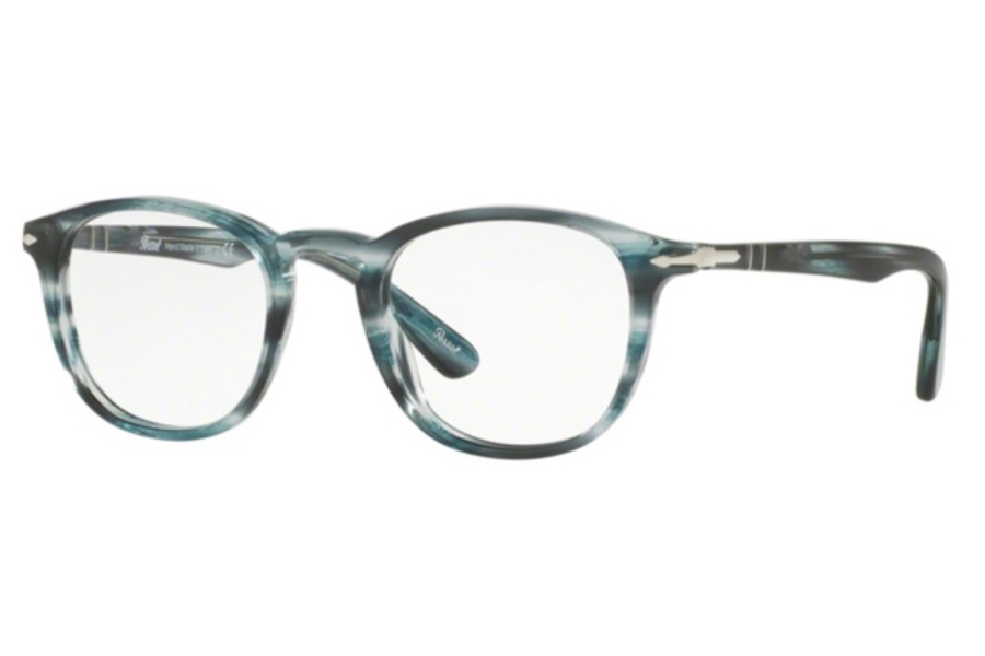 07073277e4 ... Persol PO 3143V Eyeglasses in 1051 Striped Grey ...