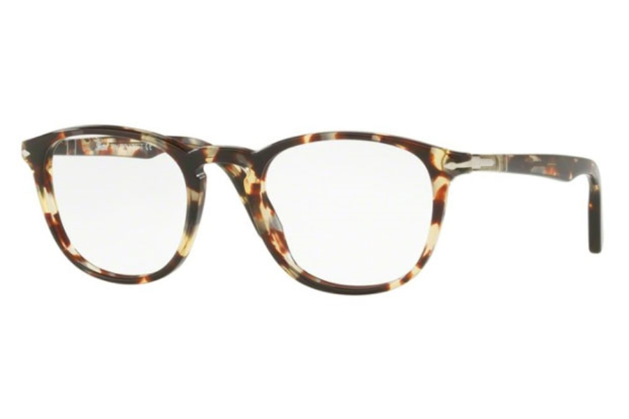 e37f814b3c ... 1050 Striped Brown Yellow  Persol PO 3143V Eyeglasses in 1052  Madreterra  Persol PO 3143V Eyeglasses in 1057 Havana Grey Brown ...
