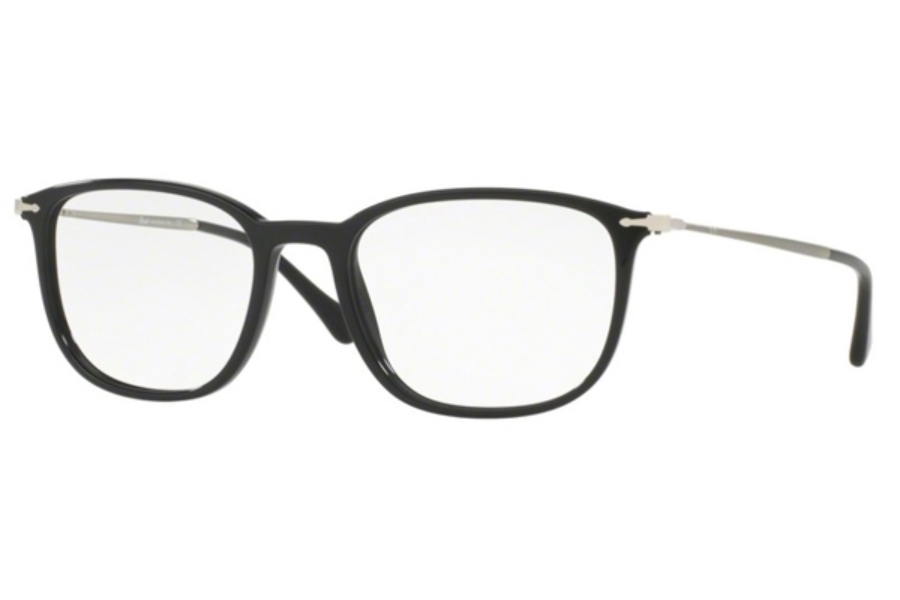 bbf0c571cb906 ... Persol PO 3146V Eyeglasses in 95 Black ...