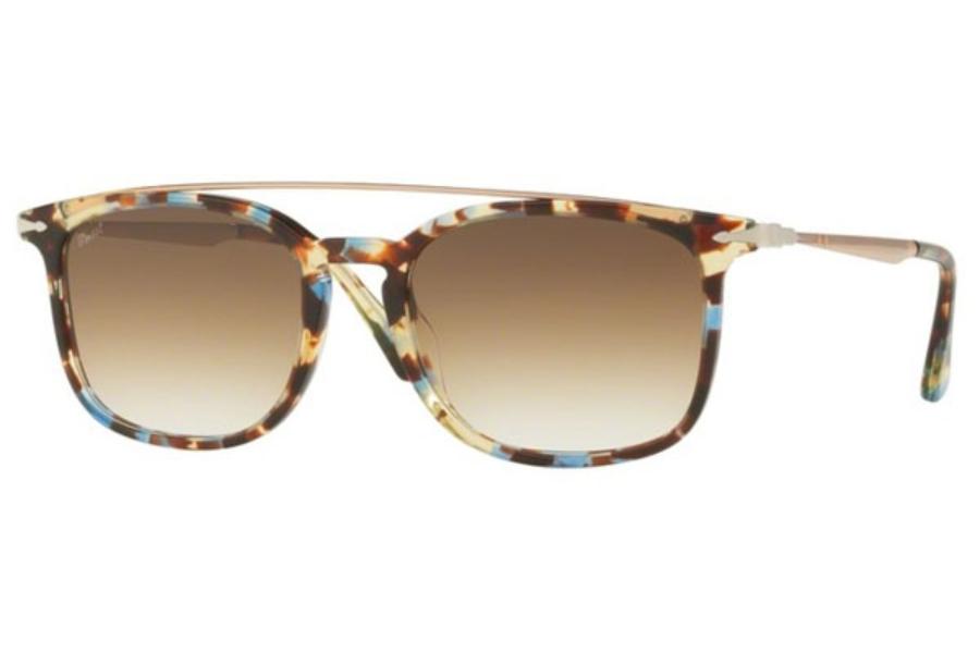 2dea751b70 ... Persol PO 3173S Sunglasses in 105851 Havana Azure-Brown ...