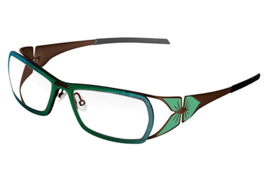 Parasite Hanami 1 Eyeglasses in C72 Brown Green