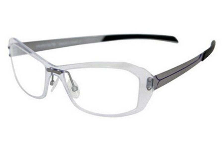 Parasite Onde 1 Eyeglasses in C61 Gun Blue