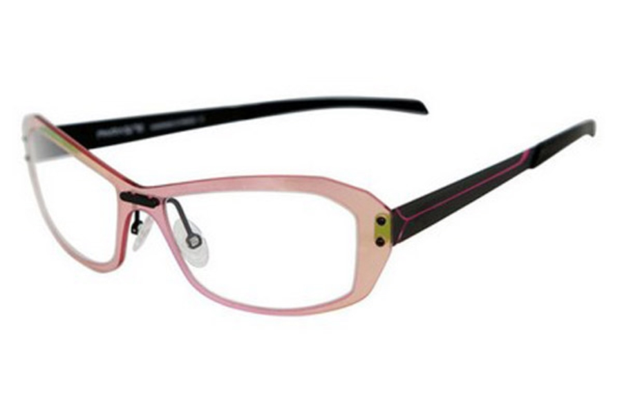 Parasite Onde 1 Eyeglasses in C80 Black Pink