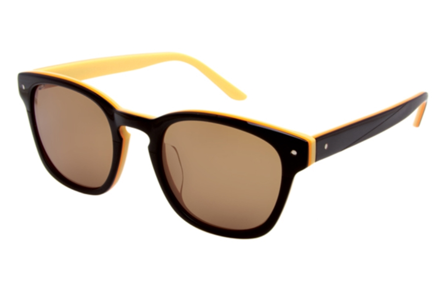 Paul Frank 202 Specter Sunglasses in Brown Orange