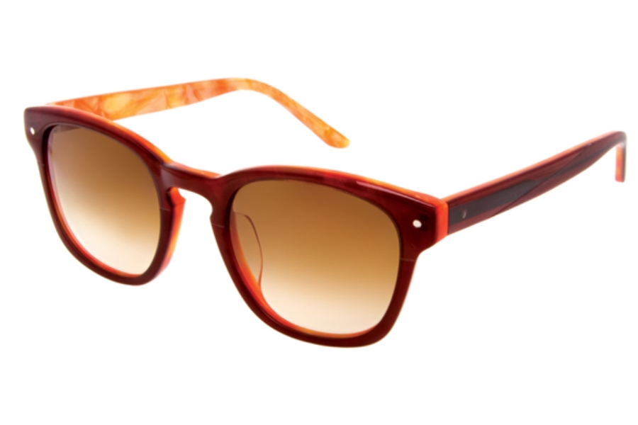 Paul Frank 202 Specter Sunglasses in Burgundy Chip