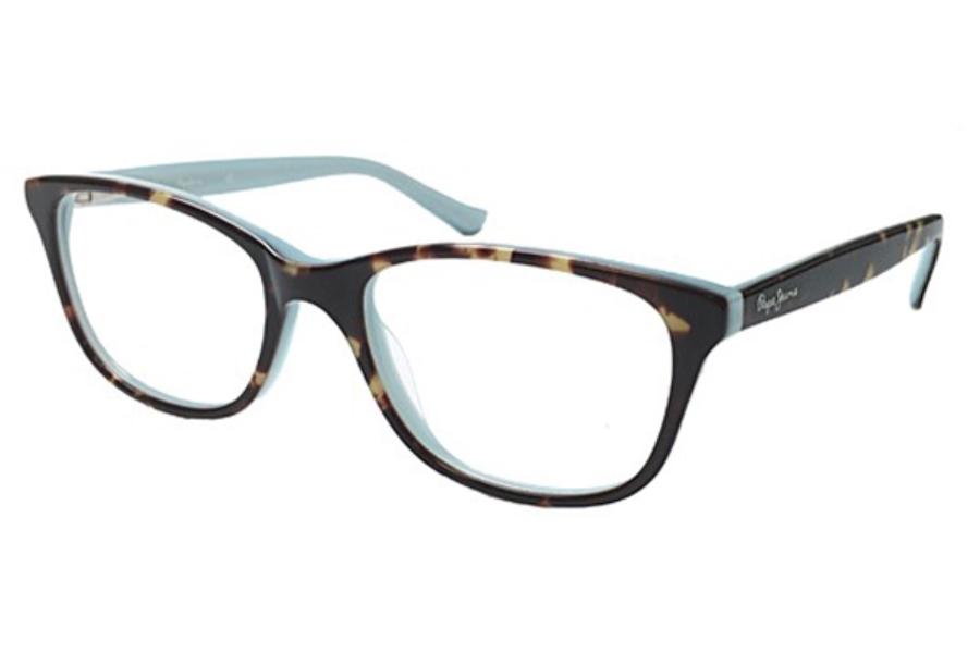 5338a6bac5 ... C1 Black  Pepe Jeans PJ4030 EVERLY Eyeglasses in C5 Tortoise Mint ...