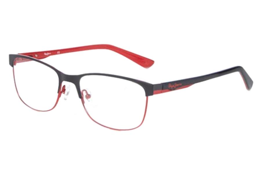 f106622a48c ... Pepe Jeans PJ1194 PHIL Eyeglasses in C1 Black Red ...