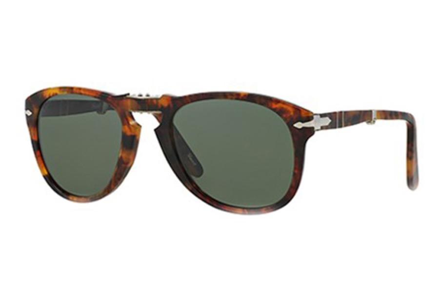 4d4de7386b ... Persol PO 0714 Folding Sunglasses in 108 58 Coffe Polar Green ...