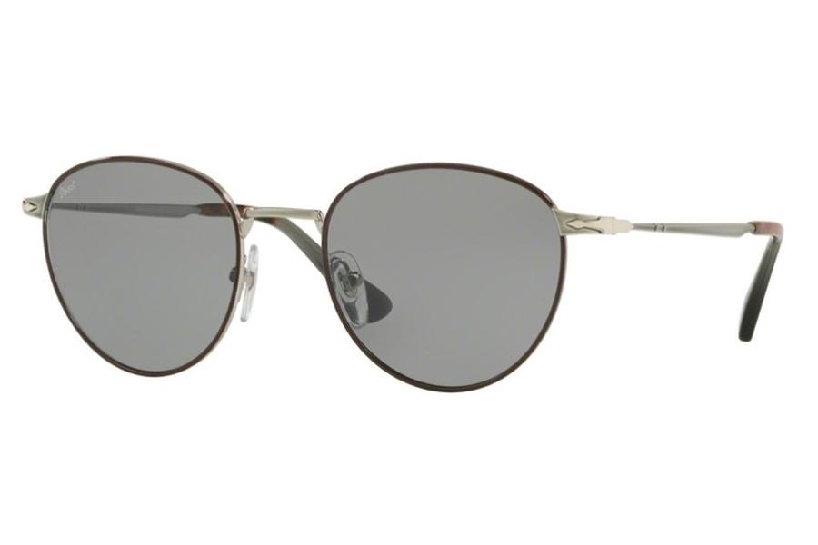 6fdbc2c85c ... Persol PO 2445S Sunglasses in 1085R5 Gunmetal Brown   Grey ...