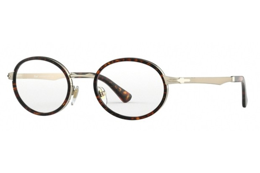 Persol PO 2452V Eyeglasses in 1076 Gold/Tortoise Brown