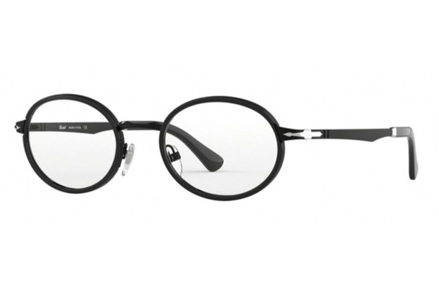 Persol PO 2452V Eyeglasses in 1078 Demi Gloss Black