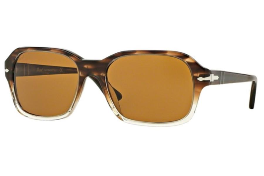 cd02a54dcb Persol PO 3136S Sunglasses in 95 57 Black   Polar Brown  Persol PO 3136S  Sunglasses in Persol PO 3136S Sunglasses ...