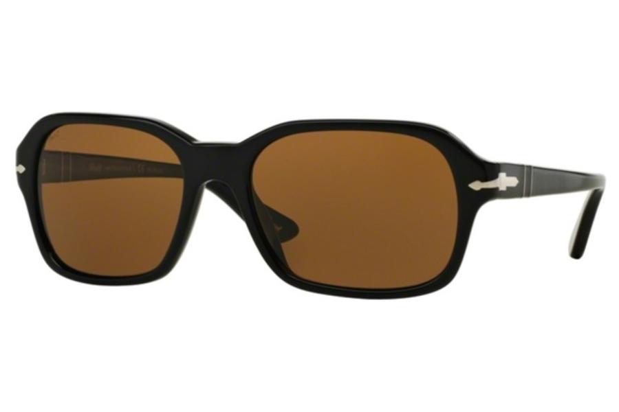 8828b5379c Persol PO 3136S Sunglasses in 95 57 Black   Polar Brown ...
