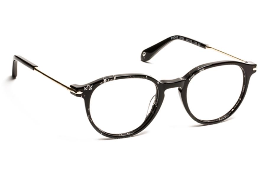 ac4ea098c9 ... J.F. Rey Petite PA 040 Eyeglasses in 0055 Nice Black Shiny Gold ...