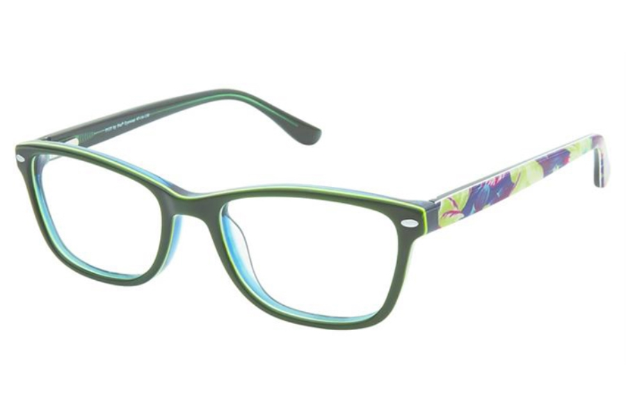 Pez P155 Eyeglasses in Emerald