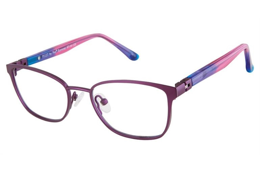 Pez P1127 Eyeglasses in Purple