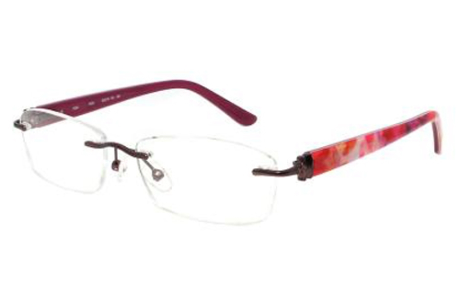 Phoebe Couture P266 Eyeglasses in Rose
