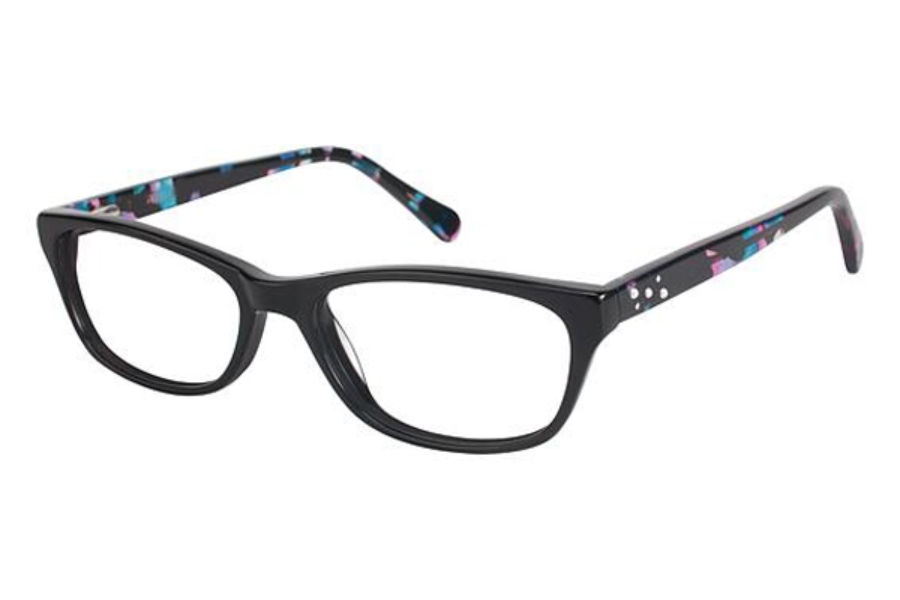 Phoebe Couture P281 Eyeglasses in BLK Black