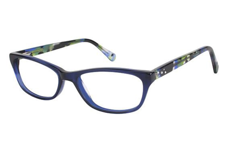 Phoebe Couture P281 Eyeglasses in BLU Blue