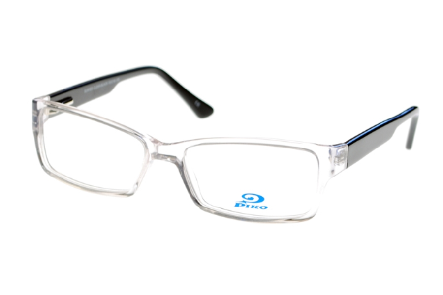 Piko Surfer Eyeglasses in Clear/Black