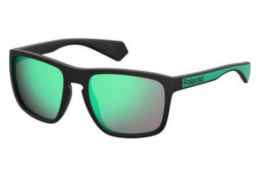 POLAROID Polarized Sunglasses Matte Black Grey Grey PLD2079 003