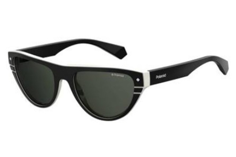 Polaroid PLD 6087/S/X Sunglasses in 09HT Black Ivory (M9 gray cp pz lens)