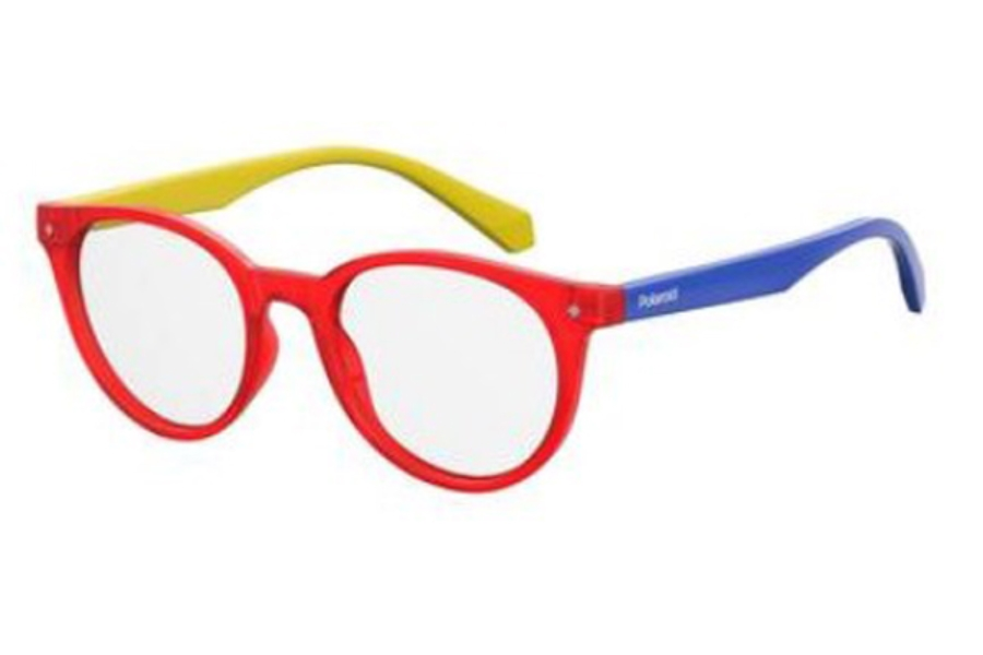 Polaroid Pld D 814 Eyeglasses in 0C9A Red