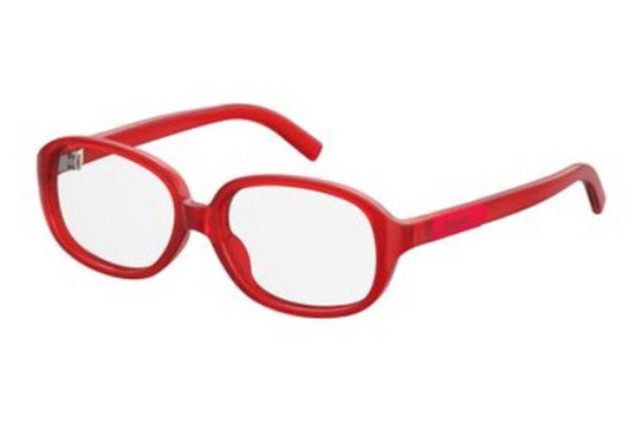 Polaroid Pld D 810 Eyeglasses in 0C9A Red