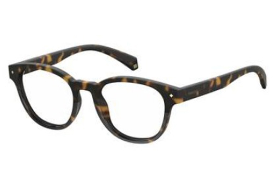 Polaroid Pld D 345 Eyeglasses in 0086 Dark Havana