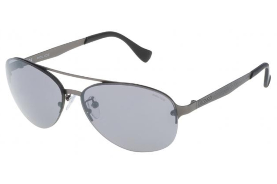 Police Sunglasses Defense 1 S8956M 627B Matt Gunmetal Blue Gradient