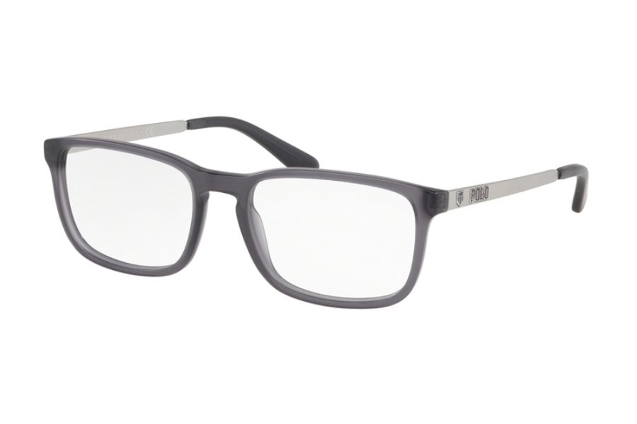 Polo PH 2202 Eyeglasses in 5320 Matte Trasparent Grey