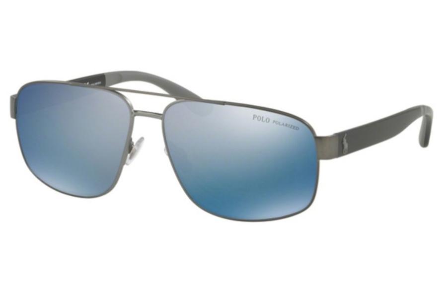 Sunglasses Polo PH 3112 91575A SEMISHINY DARK GUNMETAL