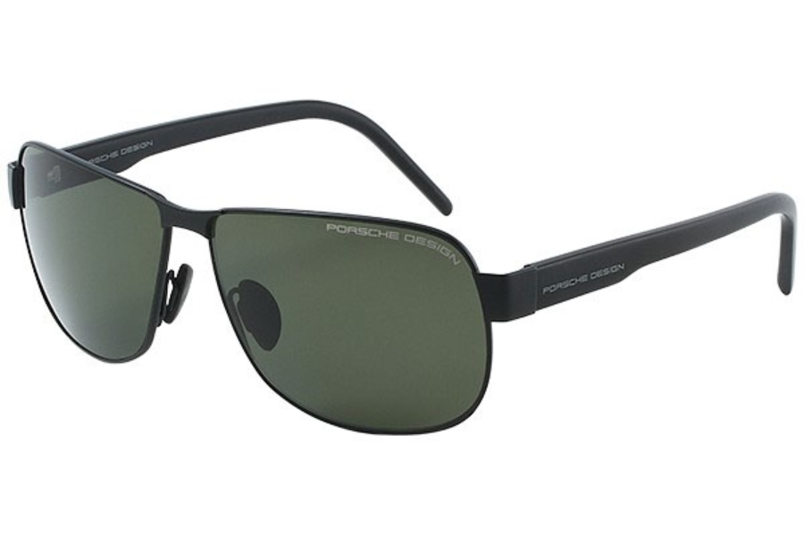 8202b2463db9 Porsche Design P 8633 Sunglasses in A Black Polarized Gray Green ...