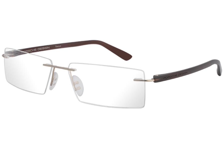 3563c34174b ... Porsche Design P 8205 S2 Eyeglasses in E Gold ...