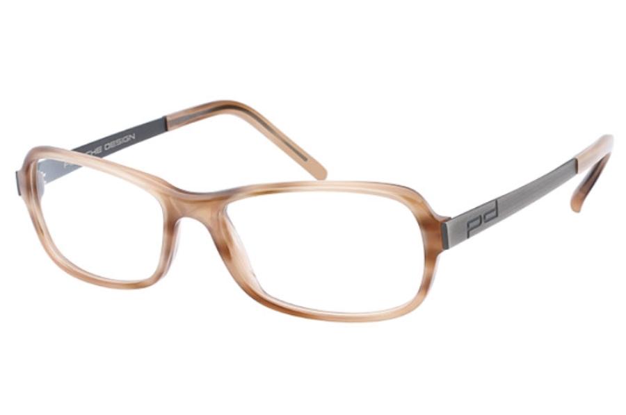 54aa0025b3f ... Porsche Design P 8207 Eyeglasses in C Light Brown Antique Brown ...