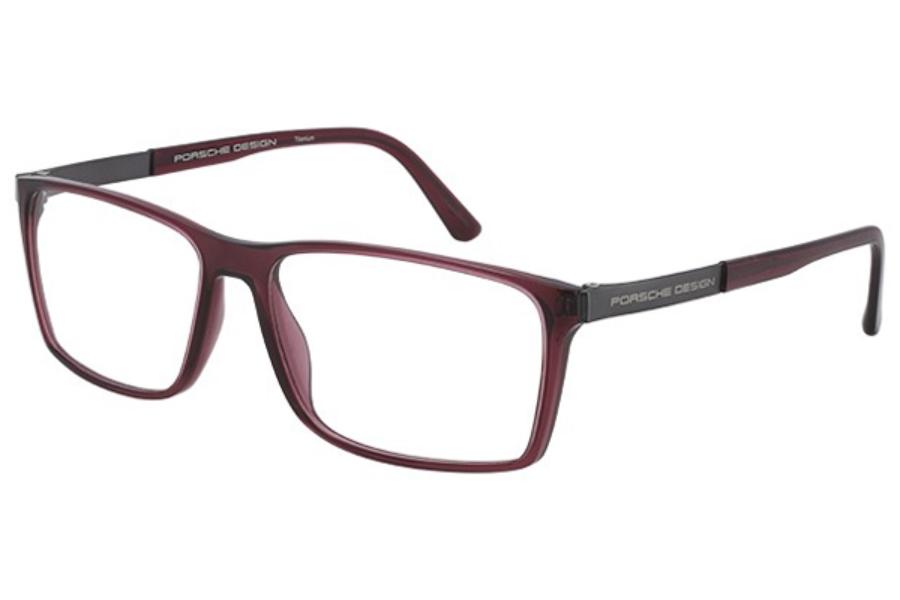Authentic Porsche Design P 8260 E Black Eyeglasses